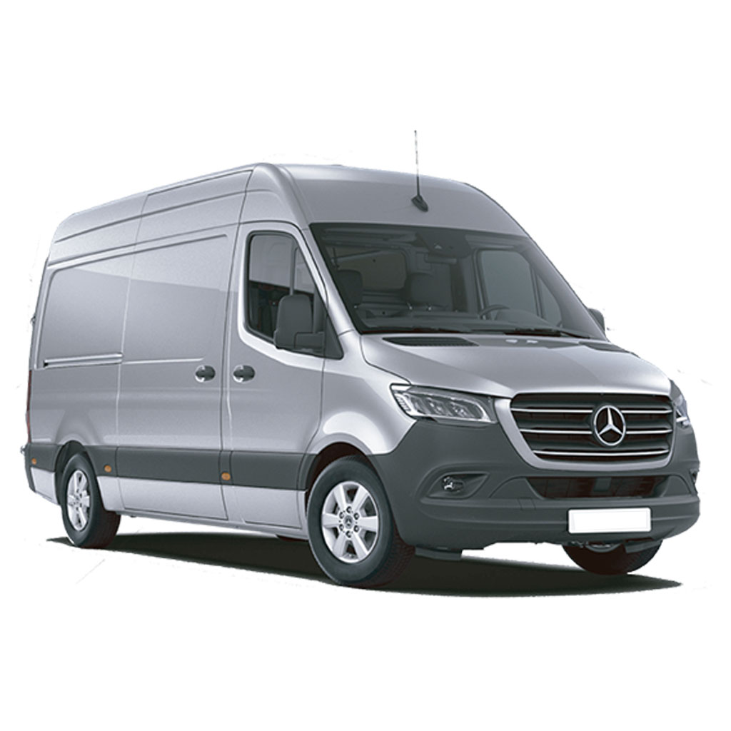 Furgón de carga Mercedes SPRINTER 10 m3 disponible para renting flexible