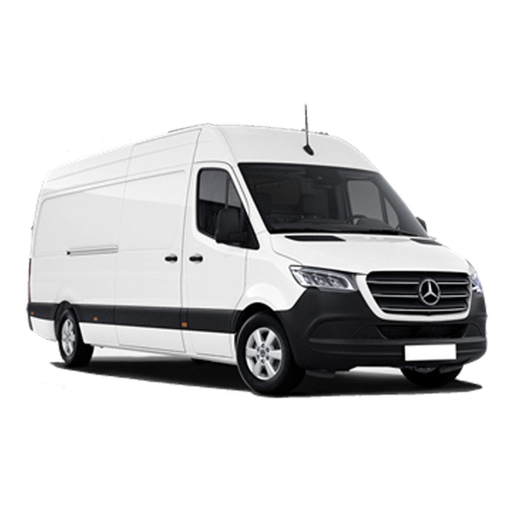 Furgón de carga Mercedes SPRINTER 14 m3 disponible para renting flexibles