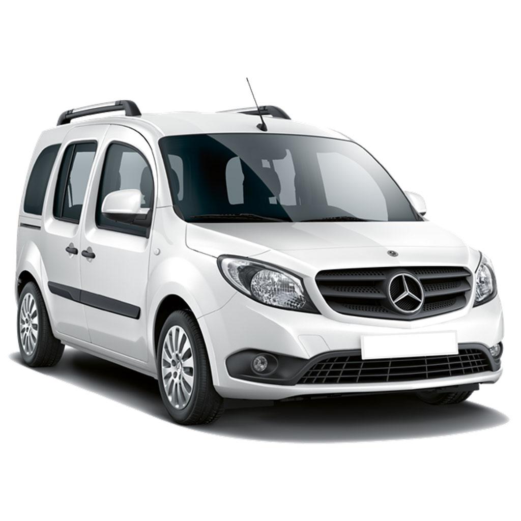 Furgoneta de pasajeros Mercedes CITAN Tourer disponible para renting flexible