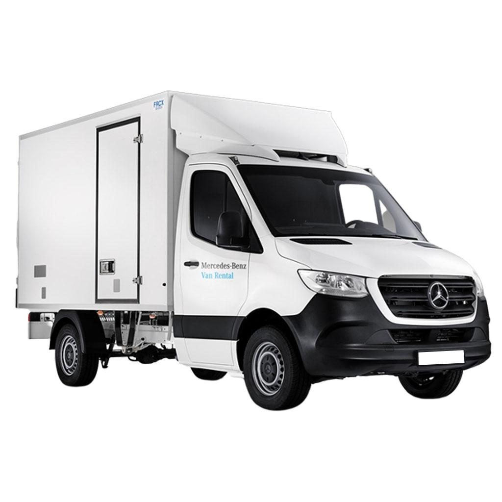 Camión modelo Mercedes SPRINTER Refrigerado disponible para renting flexible