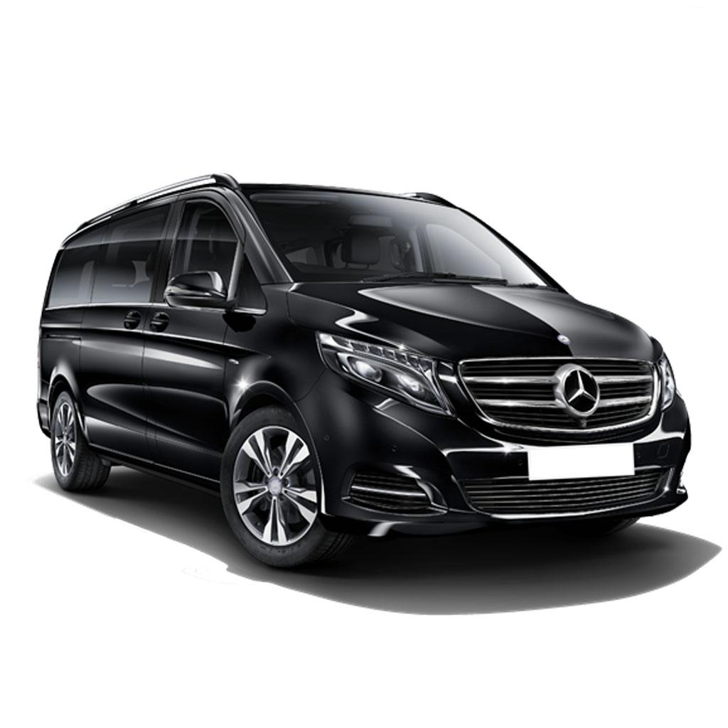 Coche modelo Monovolumen Mercedes Clase V disponible para renting flexible
